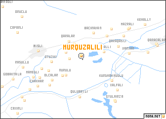 map of Murquzalılı