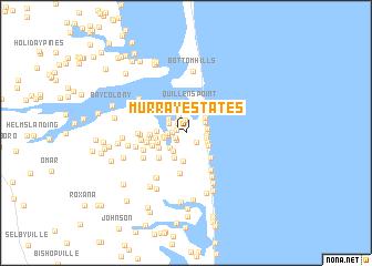 map of Murray Estates