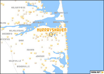 map of Murrays Haven