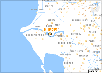 map of (( Murris ))