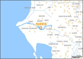 map of (( Murris ))