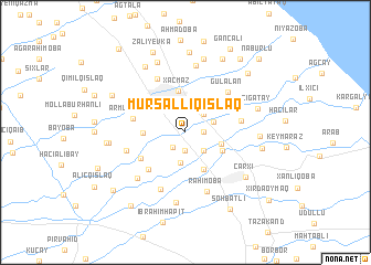 map of Mürsǝlliqışlaq