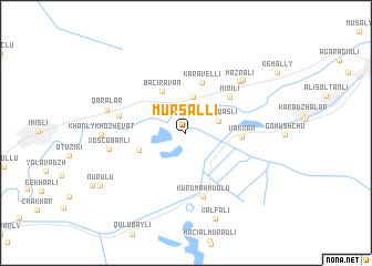 map of Mürsǝlli