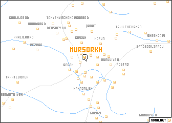 map of Mūr Sorkh