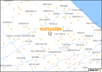 map of Mürşüdoba