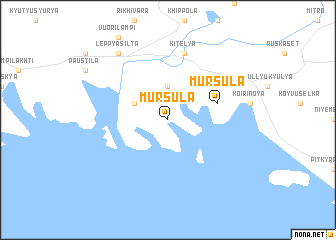 map of Mursula
