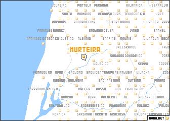 map of Murteira