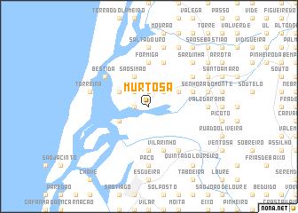Murtosa Portugal Map Nonanet - Portugal map aveiro