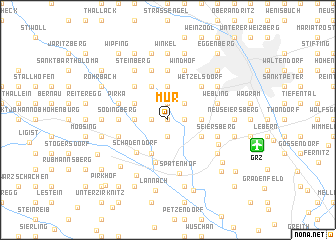 map of Mur