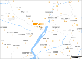 map of Musakend