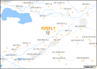 map of Musaly