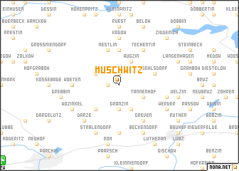 map of Muschwitz