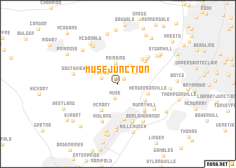 map of Muse Junction
