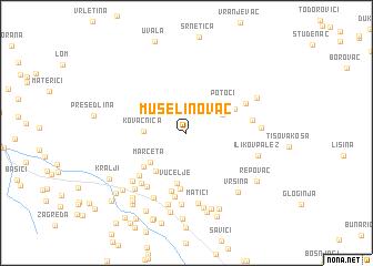 map of Muselinovac