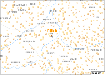 map of Muse