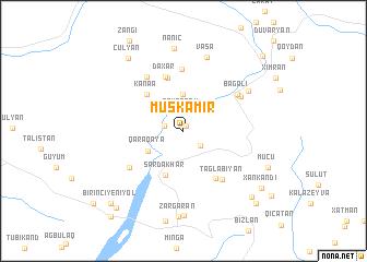map of Müşkǝmir