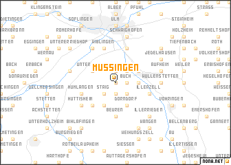 map of Mussingen