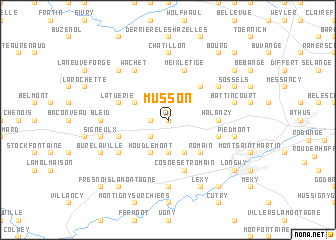 map of Musson