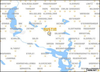map of Mustin