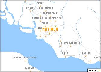map of Mutiala