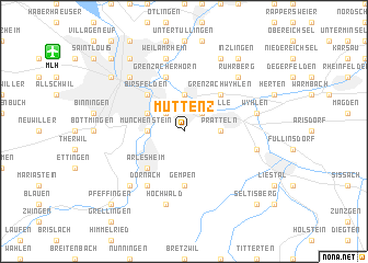 map of Muttenz