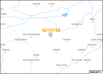 map of Mutvitsa
