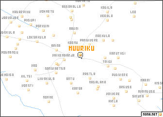 map of Müüriku