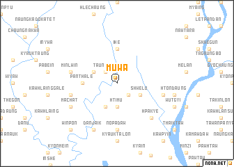 map of Muwa