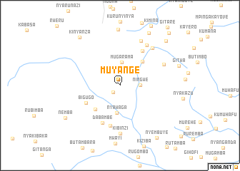 map of Muyange