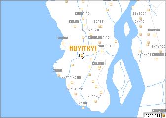 map of Muyitkyi