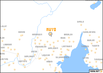 map of Muyo