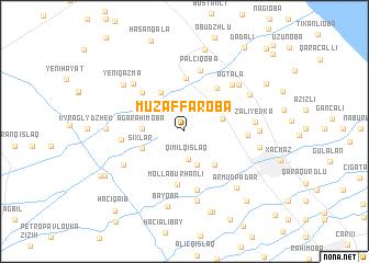 map of Müzǝffǝroba