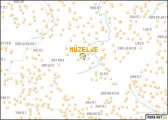 map of Muzelje