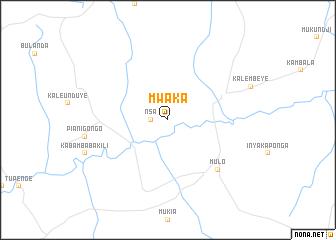 map of Mwaka