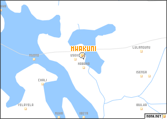 map of Mwakuni