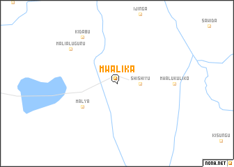 map of Mwalika