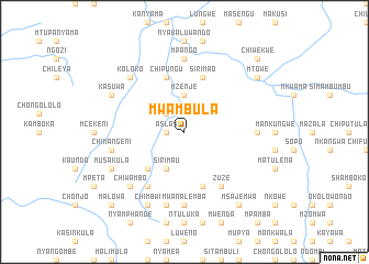 map of Mwambula