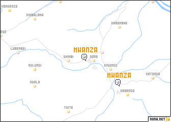 Mwanza Congo Democratic Republic of the map nonanet
