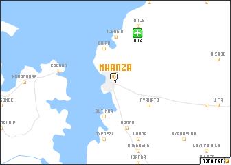 Mwanza Tanzania map nonanet