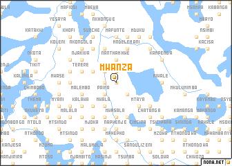 Mwanza Malawi map nonanet