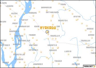 map of Myakadu