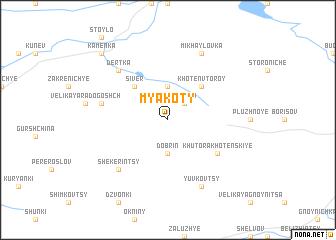 map of Myakoty