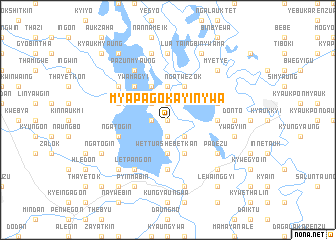 map of Myapago Kayinywa