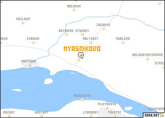 map of Myasnikovo