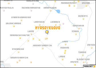 map of Myasoyedovo