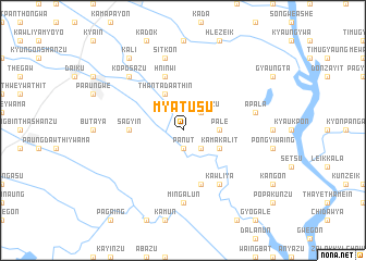 map of Mya Tusu