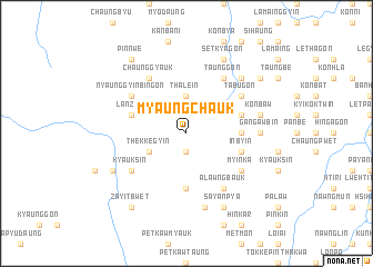 map of Myaungchauk