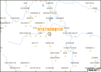 map of Myethnabyin