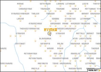map of Myinka