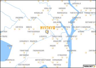 map of Myitkyo